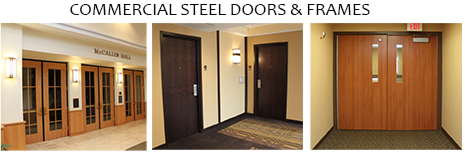 Commercial Steel Doors & Frames